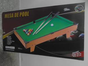 Mini Mesa De Pool Jeidy Toys Nueva