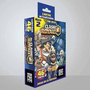 Cartas Clash Royale Mazo 1 Y Mazo 2 46 Cartas Full Color!!!