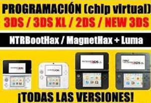 Chip Virtual Consola 3ds Todas Las Versión Ntrboot