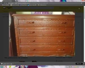 Vendo gavetero de madera con espejo caracas posot class for Vendo bar de madera
