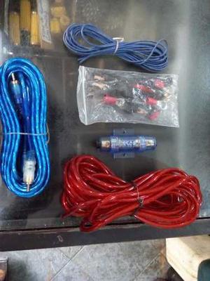 Kit De Cables De Sonido Para Carros Con Fusilera