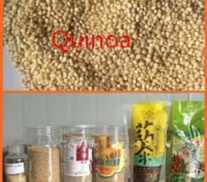 Máquina descascaradora de semillas de quinua