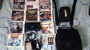 Nintendo 3ds + 10 Juegos Originales + Accesorios