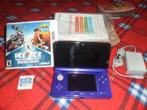 Remato Nintendo 3ds + Un Juego De La Era Del Hielo En 3d