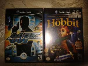 007: Agent Under Fire Y The Hobbit Para Nintendo Gamecube