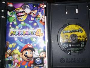 9 Juegos Gamecube Mario Party 4 -xmen 3-xmen Legends Y Otros