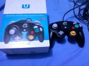 Control Gamecube Smash Y Adaptador