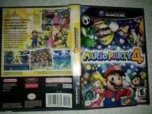 Juego De Gamecube Original De Mario Bros Party 4