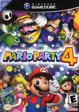 Juego Nintendo Gamecube Mario Party 4