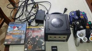 Nintendo Gamecube +chip+ 3 Controles Originales +juegos