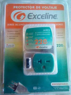 Protector Exceline Para A/a Y Equipos De Refrigeracion 220v