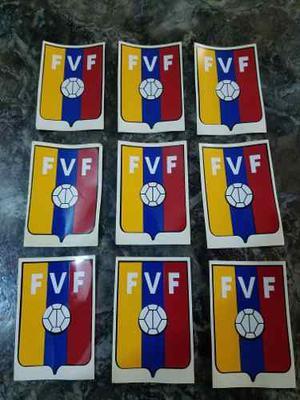 Calcomanias De La Vinotinto Fútbol En Vinil Venezuela