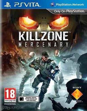 Juego De Psp Vita Killzone Mercenary