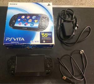 Psvita Sony Original Con 4 Juegos Y Memoria 8gb