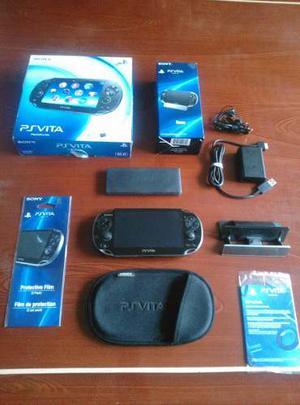Psvita Sony Original + Memoria De 4gb Nuevo+12juegos