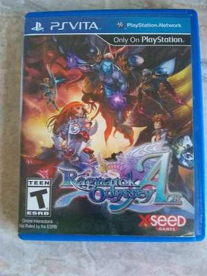 Vendo Juego Ragnarok Odyssey Edición Ace Para Ps Vita.