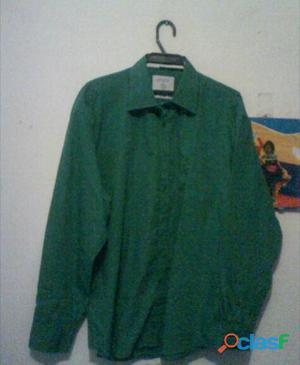 Camisas manga larga para caballero