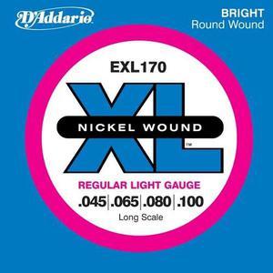 Exl170 Cuerdas (set) Daddario Para Bajo Electrico 045