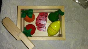 Juego de frutas para niñas