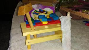 Carpintero en formica y madera posot class for Madera para mesa de trabajo