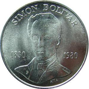 Moneda Aniversario Muerte del Libertador, Simon Bolivar