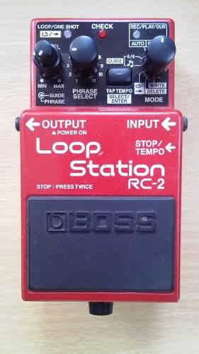 Pedal De Grabacion Boss Loop Station Rc-2 Guitarra Y Bajo