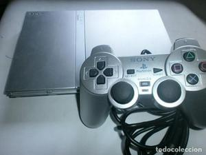 Play Station 2 Color Gris