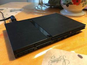Playstation 2 + 1 Control 2 Memory Card Y Un Juego.