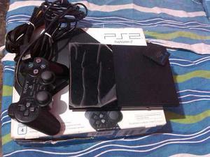 Playstation 2 Original Sony Chispiado Con Memoria Y Control