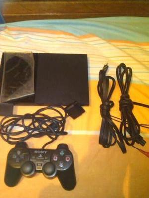 Playstation 2, Un Control, Chipiado,poco Uso.