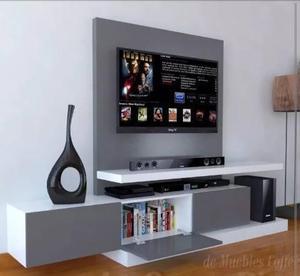 Centro De Entretenimiento Mueble Tv Moderno