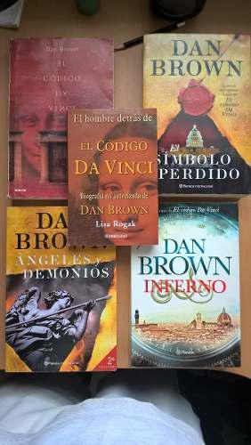 Coleccion Libros Dan Brown