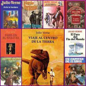 Julio Verne Pack De 33 Libros Pdf