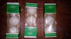 Pelotas De Golf Marca Cougar Importadas