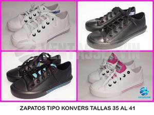 Zapatos Tipo Konvers Material Plastico Al Mayor Y Al Detal