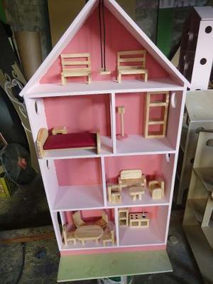 Casas Muñecas Barbie Juegos Sin Accesorios Niñas Juguete