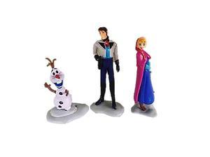 Juguete Set Frozen 3 Piezas Anna Olaf Hans Niñas Disney