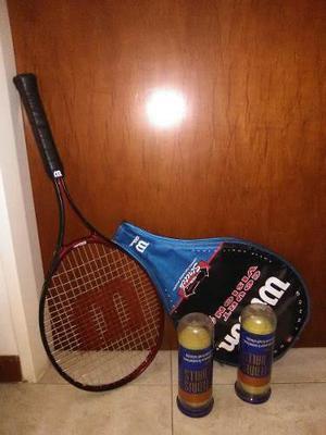 Raqueta De Tennis Wilson, Pelotas De Tennis