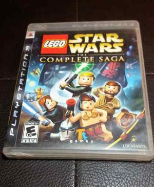 Juego Fisico Lego Star Wars Complete Saga Para Ps3 3