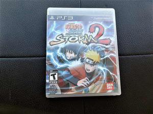 Juego Fisico Naruto Storm 2 Ps3 Excelente Estado Impecable