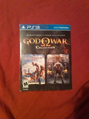 Juego Original God Of War: Collection Ps3