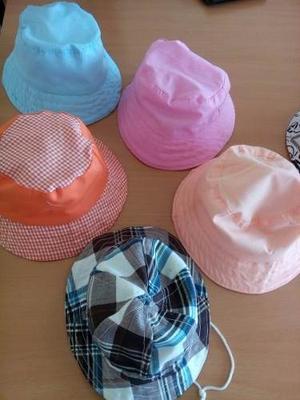 Sombreros De Niñas Talla 2 Color Naranja