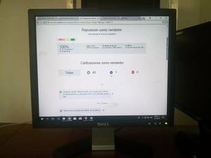 Vendo Monitor Dell 17 Pulgadas