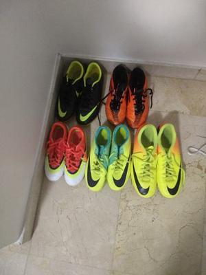 Tacos De Fútbol Campo Nikes Y adidas Originales