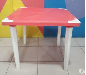 mesas plasticas cuadradas posot class