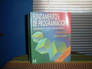 Texto FUNDAMENTOS DE PROGRAMACIÓN, Algoritmos y Estructura