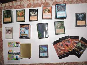 Colección 400 Cartas Magic + 100 Forros Ultra Pro