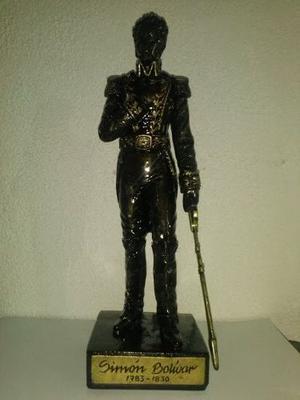 Estatuilla Del Libertador Simón Bolívar