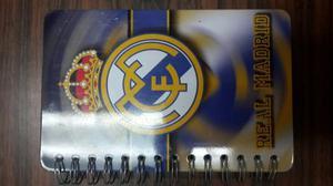 Libreta Pequeña Real Madrid Firmada Por Ex Jugador