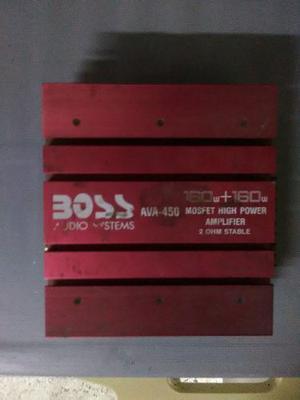 Planta Amplificadora De Audio 160w Para 2 Vias (negociable)